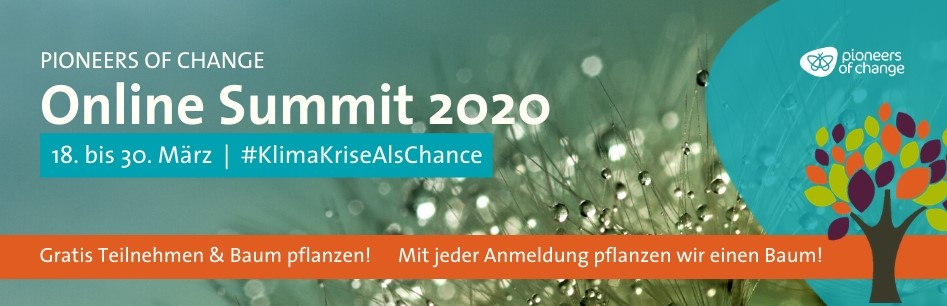 PIONEERS OF CHANGE Online Summit